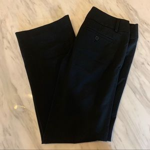 Black flare LOFT pants in Marissa Fit! Size 00P!